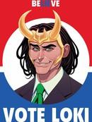 Vote Loki漫画